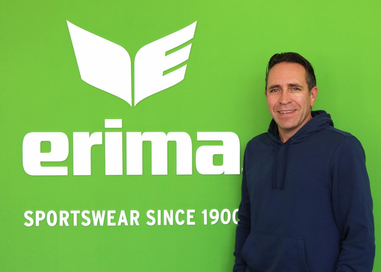 ERIMA Team : Daniel Kraus est le nouveau chef des ventes Allemagne