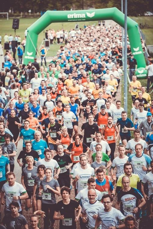 Nouveau record de participation pour la 4ème  course d'entreprises ERIMA