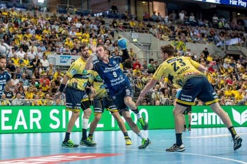 Le ballon ERIMA G13 2.0 accompagne la fin de saison de handball en clair à la télévision.