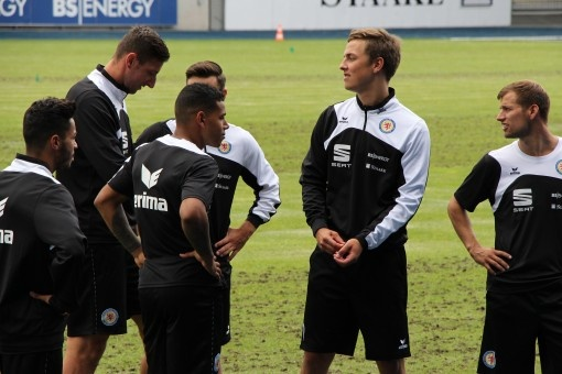 Le club de foot allemand Eintracht Braunschweig débute la saison en ERIMA