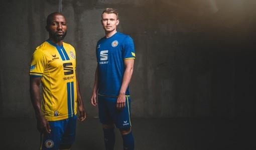 ERIMA présente le nouveau maillot 2017/2018 du club de foot allemand Eintracht Braunschweig