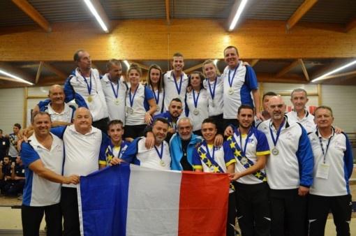 CHAMPIONNATS d'EUROPE de PETANQUE France 2017