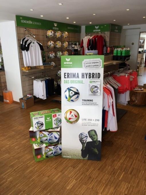 Bilan très positif de la campagne promotionnelle sur le ballon ERIMA HYBRID Training