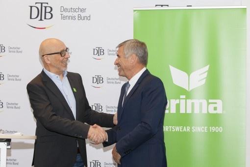 ERIMA et la fédération allemande de tennis prolongent une coopération jalonnée de succès