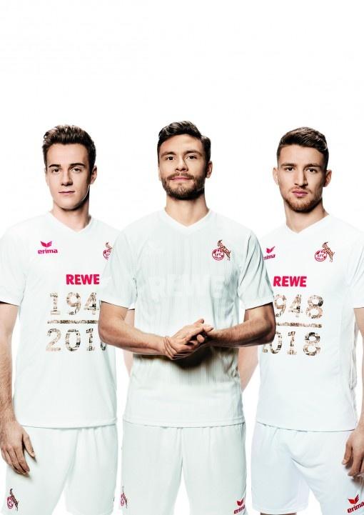 Un maillot ERIMA pour fêter les 70 ans du 1.FC Cologne