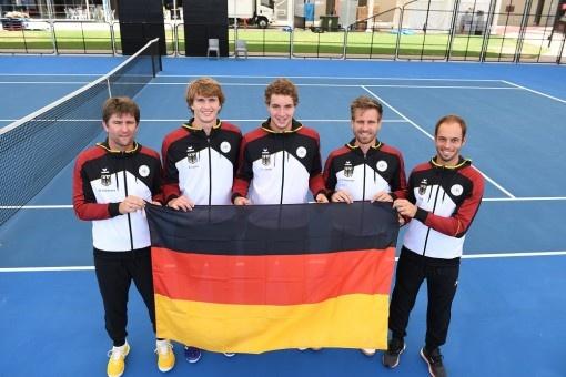 Les équipes allemandes de coupe Davis et de Fed-Cup jouent dans les tenues de la nouvelle collection ERIMA
