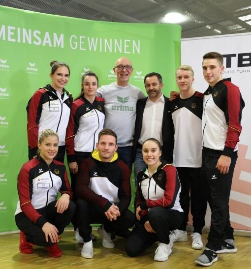 Coupe DTB : ERIMA présente la nouvelle tenue des gymnastes allemands
