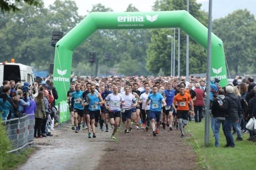 Nouveau record de participation pour la course d'entreprise ERIMA