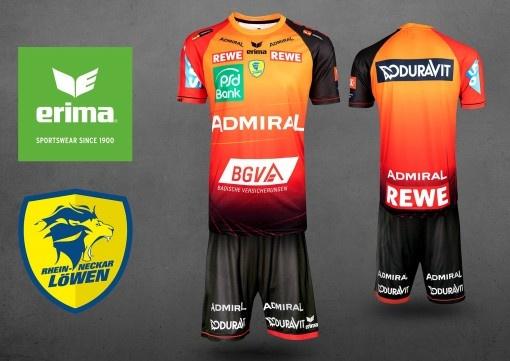 La nouvelle tenue des «Lions du Rhin» pour les meilleurs des meilleurs: ERIMA présente le maillot de Champions League des «Rhein Neckar Löwen»
