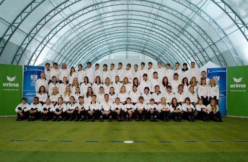 Jeux olympiques de la jeunesse: l'équipe autrichienne équipée avec la nouvelle ligne ERIMA