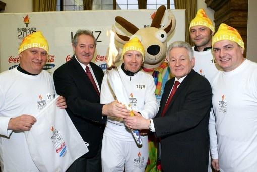 ERIMA et l'union sportive ont amené la flamme olympique en Haute-Autriche
